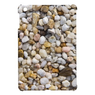 River Pebbles Rocks in Brown, Gray and White