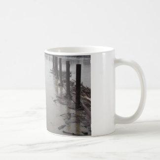 River Pilings Coffee Mug