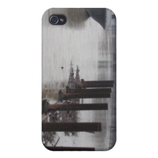 River Pilings Case For iPhone 4