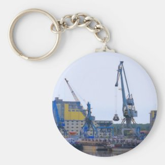 river port keychain