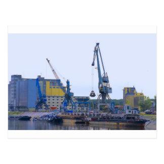 river port postcard