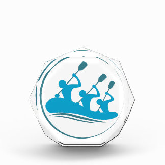 River Rafting Acrylic Award