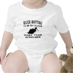 River Rafting Design Baby Bodysuit