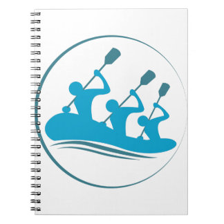 River Rafting Spiral Notebooks
