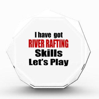 RIVER RAFTING SKILLS DESIGNS AWARDS