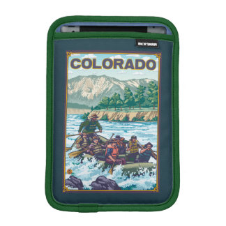River RaftingColorado iPad Mini Sleeve