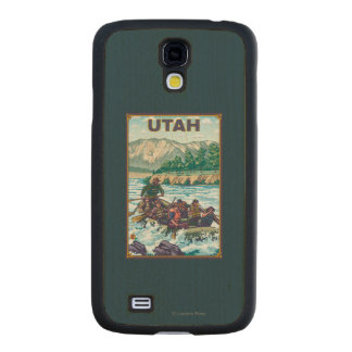 River RaftingUtah Carved® Maple Galaxy S4 Case