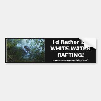 RIVER RAPIDS Bumper Stickers