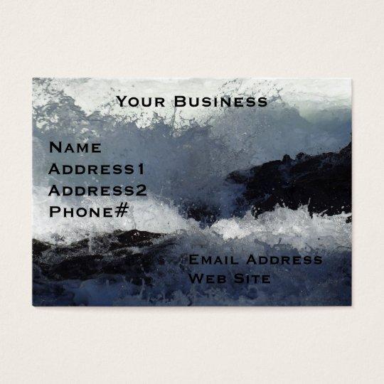 River Rapids Motivational Business Cards