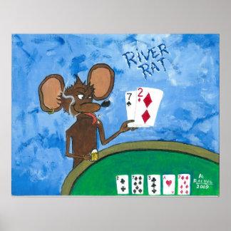River Rat Poster