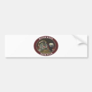 River Rats Beer Club Car Bumper Sticker