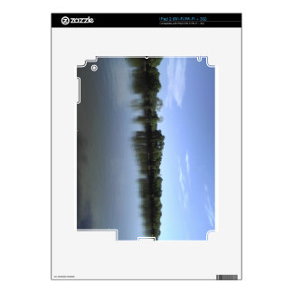 river reflection iPad 2 decal