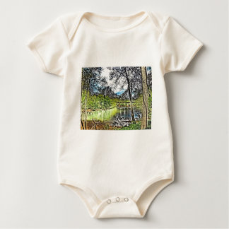 River Reflections Baby Bodysuit