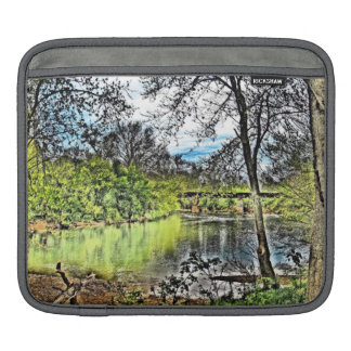 """""""River Reflections"""" Sleeve For iPads"""