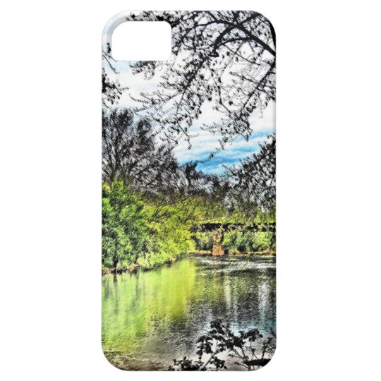 River Reflections iPhone 5 Case (Vertical)