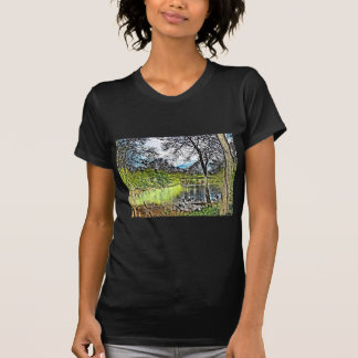 River Reflections Ladies Petite T-Shirt