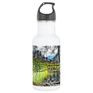 River Reflections 18oz Water Bottle