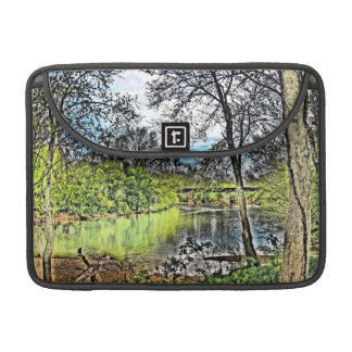 """""""River Reflections"""" Sleeve For MacBook Pro"""