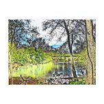 River Reflections Wrapped Canvas Gallery Wrapped Canvas