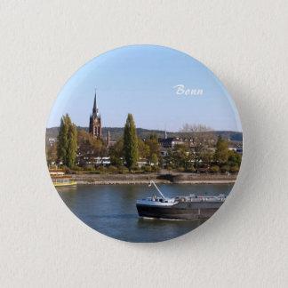 River Rhein Pinback Button