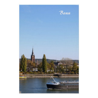 River Rhein Poster