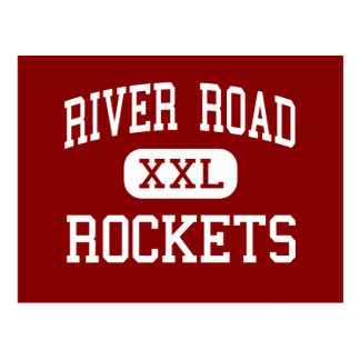 River Road - Rockets - Middle - Elizabeth City Postcard