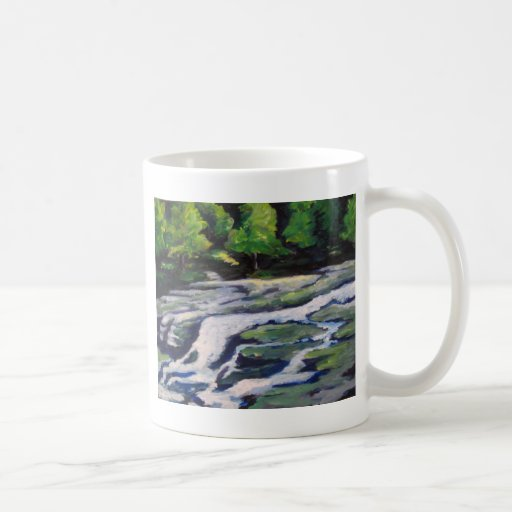 River Rock Classic White Coffee Mug