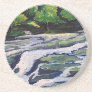 River Rock Drink Coaster