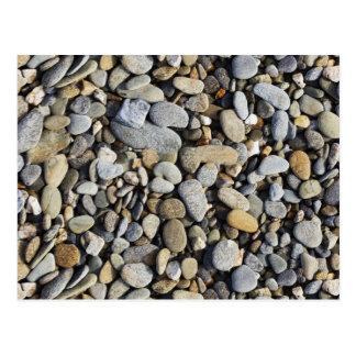 River Rock (Cobblestones) Background Postcard
