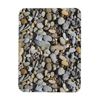 River Rock (Cobblestones) Background Flexible Magnet