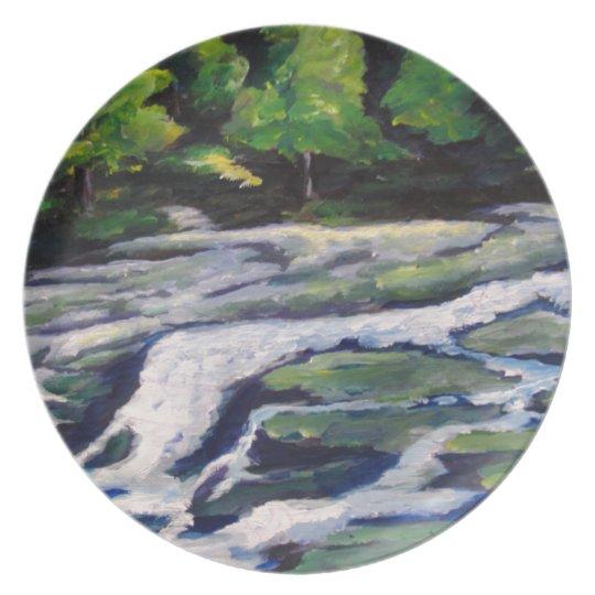 River Rock Dinner Plate