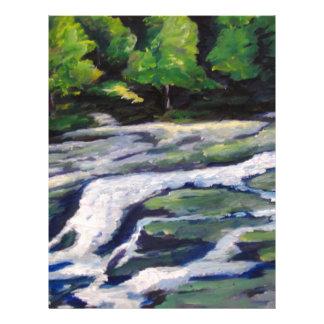 River Rock Letterhead