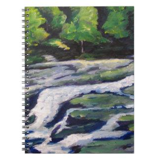 River Rock Spiral Notebooks