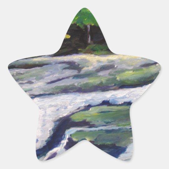 River Rock Star Sticker