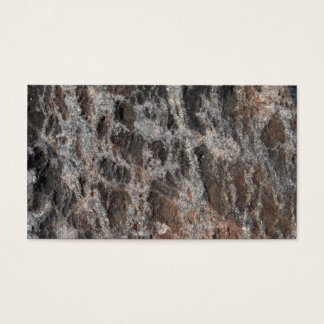 River Rock Textured Nature Stone Business Card