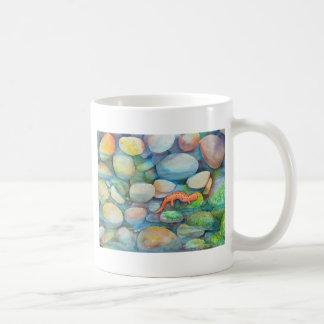 River rocks and salamander mug