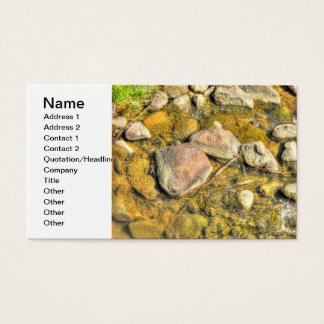 River Rocks Business Card