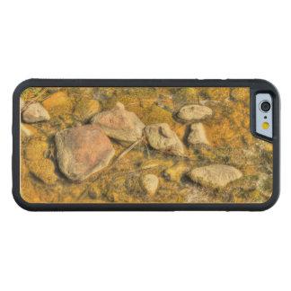 River Rocks Carved Maple iPhone 6 Bumper Case