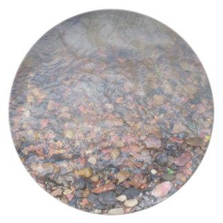 River Rocks Dinner Plate