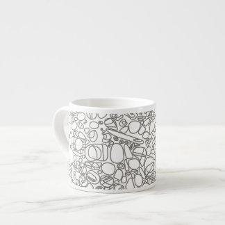 river rocks espresso cup