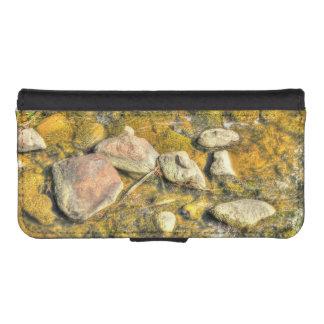River Rocks iPhone SE/5/5s Wallet Case