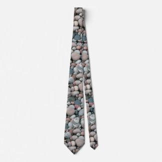 River Rocks Pattern Tie