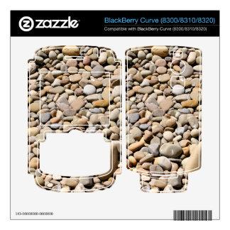 River Rocks Pebbles BlackBerry Curve Skins