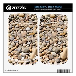 River Rocks Pebbles BlackBerry Torch Skin