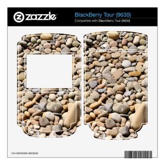 River Rocks Pebbles BlackBerry Tour Decals