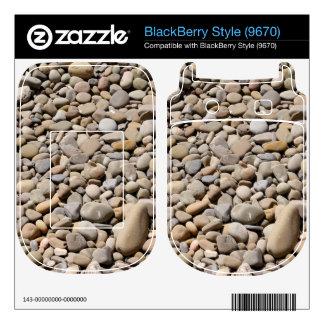 River Rocks Pebbles BlackBerry Decals