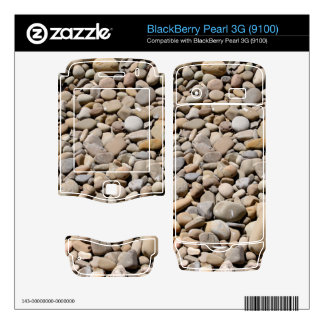 River Rocks Pebbles BlackBerry Pearl Skins