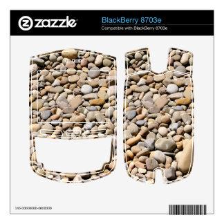 River Rocks Pebbles BlackBerry 8703e Decals