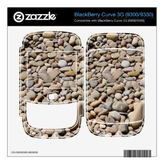 River Rocks Pebbles BlackBerry Skin
