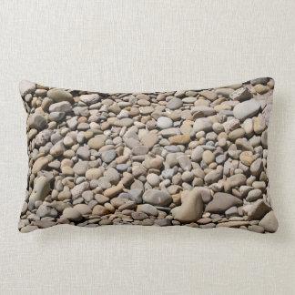 River Rocks Pebbles Throw Pillows